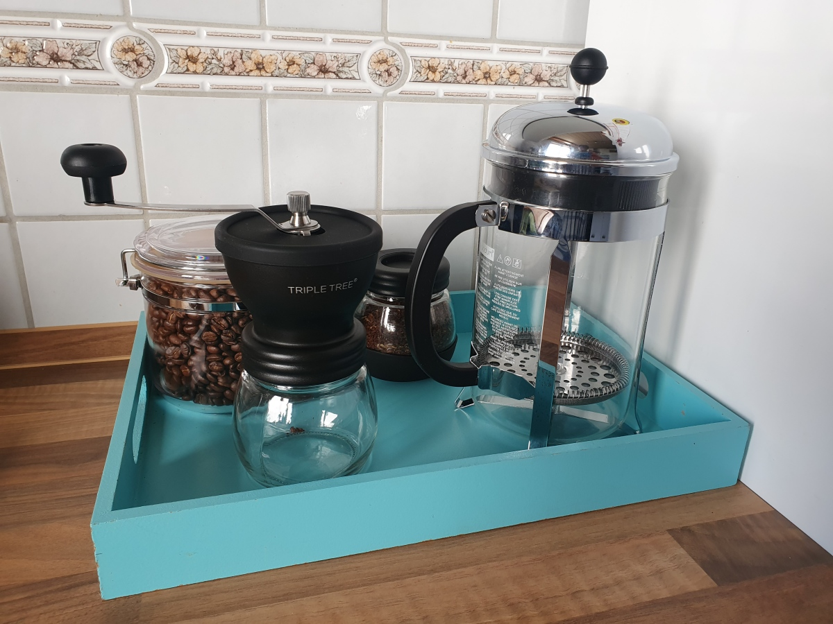 Stepping Up Our Coffee Game